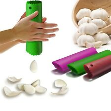 Best Useful Kitchen Tool Magic Silicone Garlic Peeler Peel Easy Random Color NEW