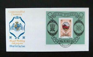 Dominica-1981-Royal Wedding $5 FDC