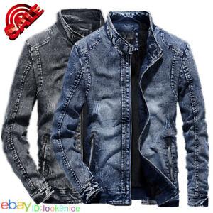 Spring Autumn New jeans Jacket Men's Youth Retro Denim Jackets Clothing coat