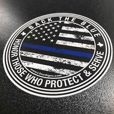 Back The Blue- Circle Sticker