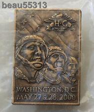 HARLEY DAVIDSON OWNERS GROUP HOG 2000 WASHINGTON DC ROLLING THUNDER POW MIA PIN