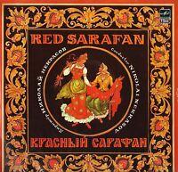 A20 00175 000 NIKOLAI NEKRASOV red sarafan USSR melodiya 1986 LP PS EX/EX