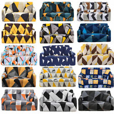 Cubre sofá de 1/2/3/4 asientos Spandex Slipcover Protector Burbuja Tallas de celosía