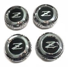 Datsun 280ZX Alloy Wheel Center Cap Set, OEM NEW!