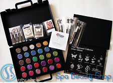 Glitter Tattoo Pro Kit Business Set with Case + Stencils w/DVD NEW 452 pcs Party