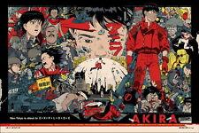 "04 Akira - Japanese Animated Cyberpunk Action Film 36""x24"" Poster"