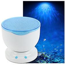 Romantic Aurora Master Ocean Daren Waves Night Light Projector Lamp MP3 Speaker