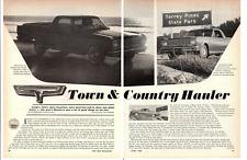 1966 FORD FALCON RANCHERO 289 ~ ORIGINAL 6-PAGE ROAD TEST / ARTICLE / AD