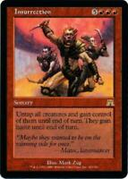 MTG - Onslaught 3x Insurrection!  Slightly Played Condition!  FREE SHIPPING!