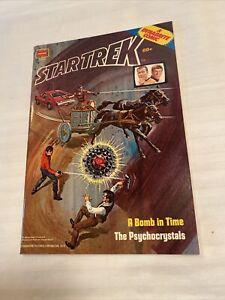 Star Trek The Psychocrystals #11358 Dynabrite Comics Bronze Age Whitman 1978