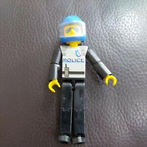 vintage Lego technic police man figure