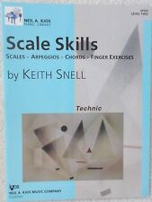 Snell Scale Skills Technic Piano L2 Exercises More New