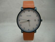 Authentic Skagen SKW6325 Hagen Genuine Leather Light Brown Men's Watch
