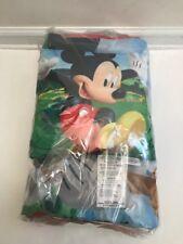 Kids Slumber Sleeping Bag w/ Bonus Pillow - Cars, Mickey, Minnie, TMNT - U-Pick