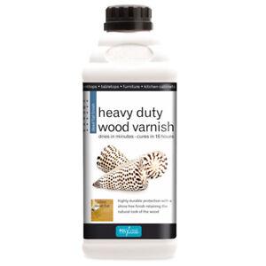 POLYVINE Quick-Dry Heavy Duty Interior Wood Varnish - Dead Flat or Satin (HDWV)