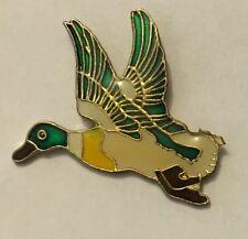 Flying Duck Lapel tie pin badge hat ducks # 29