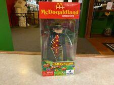 "2008 Huckleberry Toys McDonaldland HAMBURGLAR 8"" Inch Retro Figure NIB"