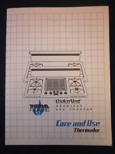 THERMADOR Cooktop Manual 1987 ~ EXCELLENT