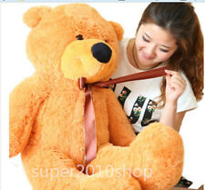 """32in.100% Pp Cotton Giant Cute Plush """"light brown"""" Teddy Bear Soft Toy gift"""