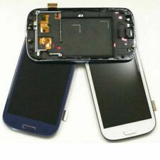 For Samsung Galaxy S3 Neo i9301 i9301i  LCD Display Touch Digitizer + Frame Blue