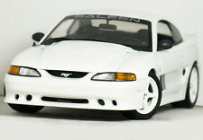 """1:18 AUTOart Model """"1998 FORD MUSTANG Saleen S351 COUPE"""" (White) RARE HTF #72721"""