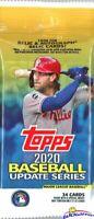 2020 Topps Update Baseball HUGE Factory Sealed JUMBO FAT PACK-34 Cards!