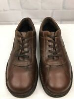 Dr. Martens Men's Oxfords Air Cushion Sole Brown Leather Lace Up Shoes Size 13
