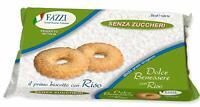 12 x Fazzi Dolce Benessere biscotti con Riso SENZA ZUCCHERO (12 confezioni)