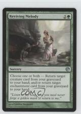 2014 Magic: The Gathering - Journey into Nyx #138 Reviving Melody Magic Card 0b5