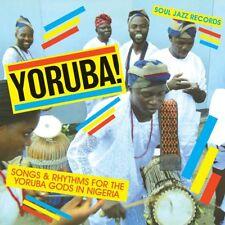 YORUBA! SONGS & RHYTHMS FOR THE YORUBA GODS IN NIGERIA  CD NEUF