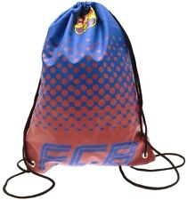 FC Barcelona Official Football School Sports Gym Kit FCB Drawstring Swim Bag FD