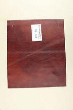 "Miro Mahogany Scrap Leather Craft Piece 12"" x 14""  TD314"
