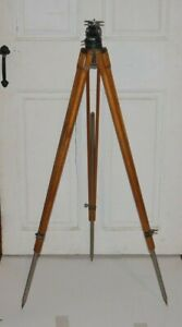 Vintage Craig Thalhammer Wood  Photography Tripod, Los Angeles