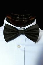 Blue Lodge Square & Compasses Black Freemason Masonic Bow Tie
