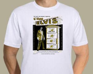 Elvis Presley - Hawaii  War memorial concert promotional poster on T-shirt