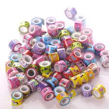 10X Ruban Adhesif Masking Tape Sticker Papier Washi Scrapbooking Enfant Cadeau