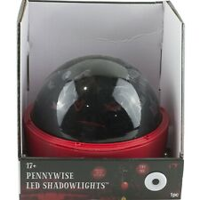 It Movie Pennywise Clown LED Shadowlights Rotating Projection Lights Halloween