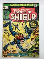 NICK FURY & HIS AGENTS OF SHIELD #1 MARVEL 1973 BRONZE WHEN THE UNLIVING STRIKE