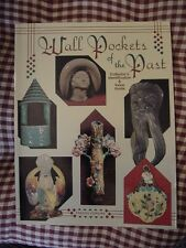 1996 BOOK, WALL POCKETS OF THE PAST ID & VALUE GUIDE, by FREDDA PERKINS