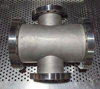 "mdc reducing conflat 4 way cross 8"" CFF to 6"" CFF UHV vacuum mks lesker amat"