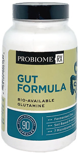 ProBiome Rx Gut Formula Glutamine Immune Zinc Probiotic Microbiome Booster 90ct