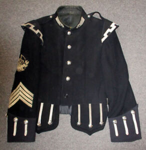 Pipe-Major's Doublet with EIIR buttons