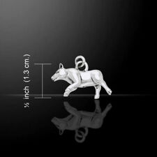 Danu Celtic Goddess Boar Sterling Silver Charm by Peter Stone