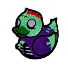 Occult living undead zombie Ducky Patch Iron to Sew on Badge