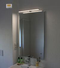 ARNOTA LED LEUCHT LAMPE BELEUCHTETER SPIEGEL MIT STEILFACETTE 130x70CM 1 LAMPE
