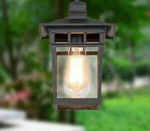 Pendant Light Waterproof Outdoor Landscape Aluminum Glass Body Inside LED 31-40W