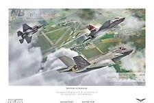 617 Squadron RAF Marham F35-B Lightning II DIGITAL ART PRINT
