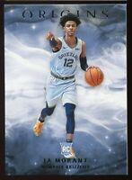 2019-20 Panini Origins Basketball Card #70 Ja Morant Rookie RC Memphis Grizzlies