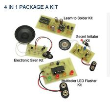 KitsUSA K-6880   4 IN 1 PACKAGE SOLDERING KITS-AGE 13+