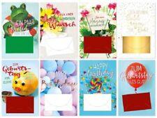 80 Geburtstagskarten Glückwunschkarten Geburtstag Geldkuvert sk 5193